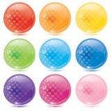 шарики стеклянные Стоковое Изображение RF