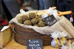 Шарики сыра Belper Knolle. Стоковое Изображение