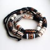 Шарики с этническими орнаментами handmade Стоковые Изображения