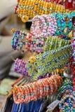 Шарики типа и цвета браслета различных Стоковые Изображения RF