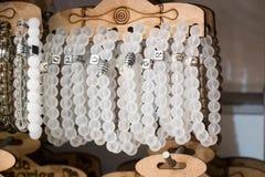 Шарики типа и цвета браслета различных Стоковое Изображение