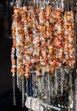 Шарики типа и цвета браслета различных Стоковые Изображения