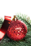 Шарики украшения рождества Стоковое Изображение RF