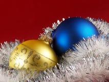Шарики украшения рождественской елки Стоковая Фотография