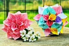 Шарики цветка Origami Стоковое Фото