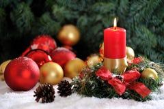 шарики 1 миражируют рождество Стоковые Фотографии RF