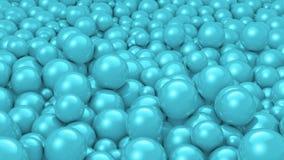шарики cyan Стоковая Фотография RF