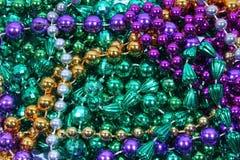 Шарики Mardi Gras Стоковое Фото