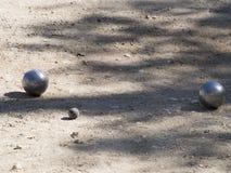 Шарики Pétanque, Франция Стоковые Изображения RF