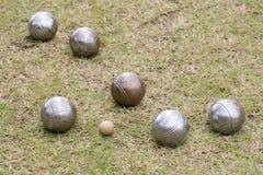 Шарики Petanque Стоковые Фотографии RF