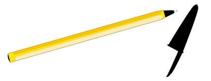Шариковой ручки Стоковая Фотография RF