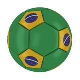 Шарик 2014 Бразилии кубка мира Стоковое фото RF