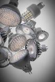 шарик вел свет Стоковая Фотография