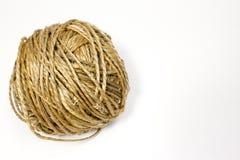 Шарик веревочки джута Стоковое Изображение