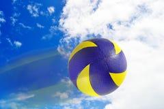 Шарик волейбола стоковая фотография