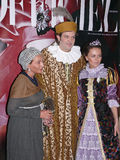 Шарик вычур-платья Jr. итальянского принца Lorenzo Medichi большой в стиле ренессанса Стоковая Фотография RF