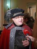 Шарик вычур-платья Jr. итальянского принца Lorenzo Medichi большой в стиле ренессанса Стоковые Фотографии RF
