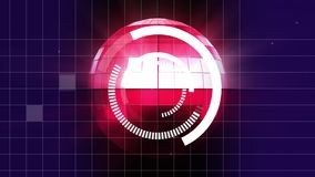 шарик диско с загрузкой загрузки иллюстрация штока