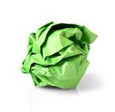 Шарик зеленой книги изолированный на белой предпосылке Стоковое Изображение RF