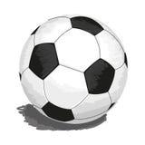 шарик изолировал футбол Стоковое Фото