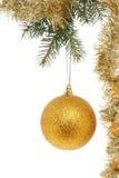 Шарик и сусаль золота Стоковое Изображение RF