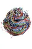 Шарик кабеля сети Стоковые Фото