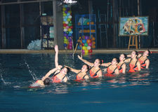 Шарик на воде Стоковое Фото