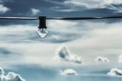 Шарик над голубым небом Стоковое Фото