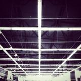 Шарик освещения внутри магазина Стоковая Фотография RF
