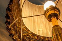шарик предпосылки вызывая солнце света светильника трав дня Стоковое фото RF