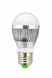 Шарик приведенный лампы Стоковое Фото