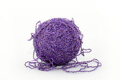 шарик продевает нитку фиолет Стоковое Изображение