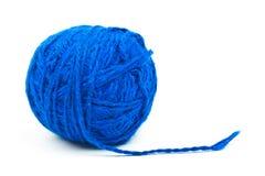 шарик продевает нитку шерстяное Стоковая Фотография