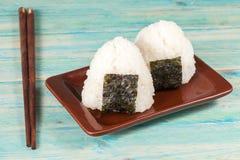 Шарик риса, onigiri, смешивать риса Стоковое Изображение RF