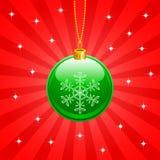 Шарик рождества Стоковые Изображения