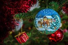 Шарик рождества Стоковые Изображения RF