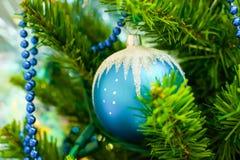 Шарик рождественской елки стеклянный Стоковые Изображения RF