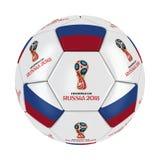 Шарик 2018 России кубка мира стоковое фото rf