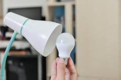 Шарик СИД - выбрал шарик для использования с электрической лампой Стоковая Фотография