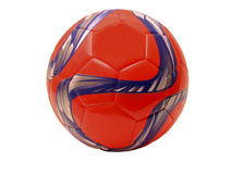 Шарик футбола (футбола) Стоковое Изображение
