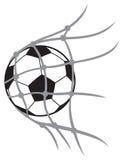 Шарик футбола вектора Стоковое фото RF
