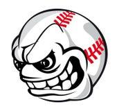 Шарик шаржа бейсбола Стоковое фото RF