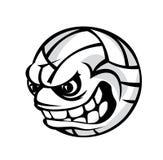 Шарик шаржа волейбола Стоковые Изображения RF
