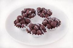 Шарик шоколада Стоковые Изображения