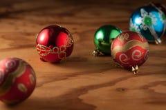 Шарик 2 рождества стоковое изображение