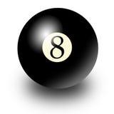 шарик 8 Стоковое Изображение