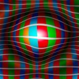 шарик 3D снованный дизайном Стоковое фото RF