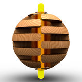 шарик 3d Стоковое фото RF