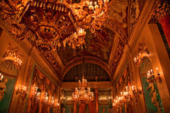 шарик florence внутри комнаты дворца medici Италии стоковые изображения rf