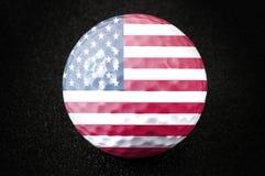 шарик golf мы Стоковое Изображение RF